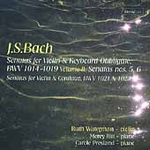 Bach: Violin Sonatas Vol 2 / Waterman, Ritt, Presland