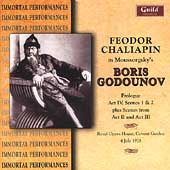Moussorgsky: Boris Godounov (Highlights) / Chaliapin, et al