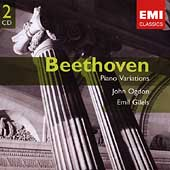 Gemini - Beethoven: Piano Variations / John Ogdon, Emil Gilels