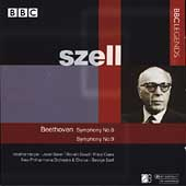 Beethoven: Symphonies no 8 & 9 / Szell, Harper, Crass, et al
