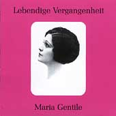 Lebendige Vergangenheit - Maria Gentile