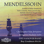 Mendelssohn: Symphonies no 3 & 4, etc / Hanover Band, et al