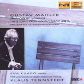 Mahler: Symphony no 4, etc / Tennstedt, et al