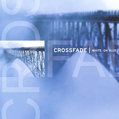 Crossfade: White on Blue