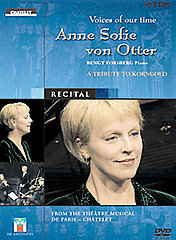 Korngold / Voices Of Our Time: Anne Sofie Von Otter [DVD]