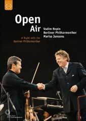 Open Air: A Night with the Berlin Philharmonic / Vadim Repin, Mariss Jansons [DVD]