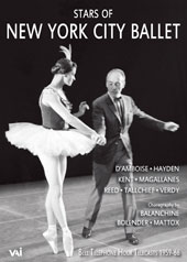 Stars of New York City Ballet - Bell Telephone Hour Telecasts, 1959-1966 / D'Amboise, Hayden, Kent, Magallanes, Reed, Tallchief, Verdy. Choregraphy by Balanchine, Bolender, Mattos [DVD]