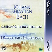 Bach: Suites no 1-4 / Diego Fasolis, I Barocchisti