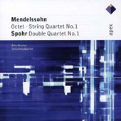 Mendelssohn: Octet, String Quartet No.1/Spohr: Double Quartet No.1