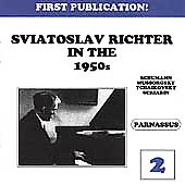 Sviatoslav Richter in the 1950s Vol 2