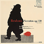 Brahms: Sonatas, Op 120 no 1 & 2 / Manasse, Nakamatsu