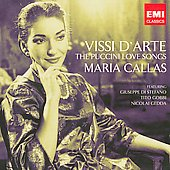 Vissi d'arte - The Puccini Love Songs / Maria Callas, et al