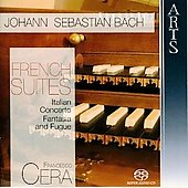 Bach: French Suites / Francesco Cera