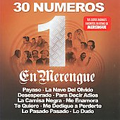 Various Artists: 30 Numero 1 en Merenge