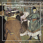 Offenbach: Piano Works Vol 3 / Marco Sollini