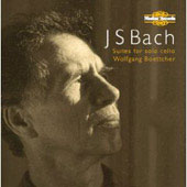 Bach: Suites for Solo Cello / Wolfgang Boettcher