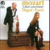 Mozart: 3 Duos Concertants