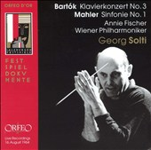 Bart&#243;k: Klavierkonzert No. 3; Mahler: Sinfonie No. 1