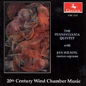 20th Century Wind Chamber Music / Pennsylvania Quintet