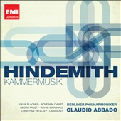 Hindemith: Kammermusik / Christian Tetzlaff, Wolfram Christ et al - Abbado