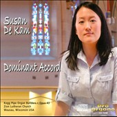 Dominant Accord: works by Bach, Howells, Brahms / Susan de Kam