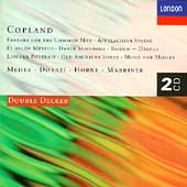 Copland: Fanfare for the Common Man, etc / Mehta, et al