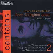 Bach: Cantatas Vol 2 / Suzuki, Bach Collegium Japan