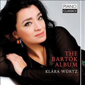 The Bartok Album - Sonata; 3 Folk songs; Suite Op. 14; For Children, book 2; 6 Romanian Dances et al. / Klára Würtz, piano