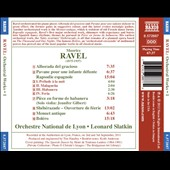 Ravel: Orchestral Music, Vol. 1 - Alborada del gracioso; Pavane; Rapsodie espagnole, Bolero et al. / Jennifer Gilbert, violin