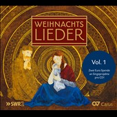 Christmas Carols Vol. 1 - beautiful German carols sung by leading concert and opera singers, choirs and children