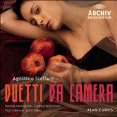 Agostino Steffani: Duetti da Camera / Alan Curtis; Daniela Mazzucato, Carolyn Watkinson, Paul Esswood, John Elwes