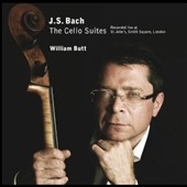 J.S. Bach: The Cello Suites / William Butt, cello (live, St. John's, London)