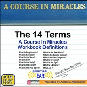 Andrew Allansmith: A Course in Miracles Definitions: The 14 Terms