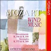 Mozart: Wind Music Vol 1 / Ottetto Italiano