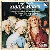 Haydn: Stabat Mater / Pinnock, Rolfe-Johnson, Rozario et al