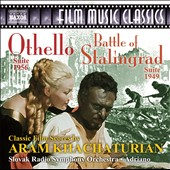 Khachaturian: The Battle of Stalingrad; Othello - film score suites / Viktor Simcisko, violin; Jana Valaskova, soprano