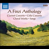 Gerald Finzi (1901-1956): Clarinet Concerto; Cello Concerto; Choral Works; Songs / Robert Plane, Tim Hugh, Peter Donohoe, Roderick Williams, James Gilchrist, John Mark Ainsley et al. [8 CDs]