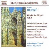 Organ Encyclopedia - Dupré: Works for Organ Vol 6 / Engels