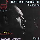 Legendary Treasures - David Oistrakh Collection Vol 8 - Bach