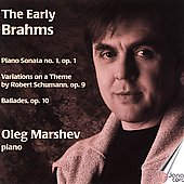 The Early Brahms / Oleg Marshev