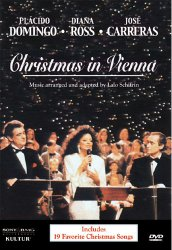 Christmas In Vienna / Domingo, Carreras, Ross  [DVD]