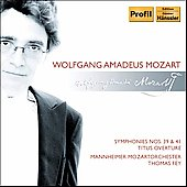 Mozart: Symphonies no 39, 41, etc / Fey, et al