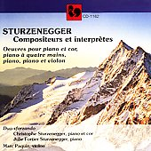 Sturzenegger: Compositions and Interpretations / Sforzando