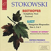 Beethoven: Symphony no 6;  Liszt / Stokowski, NBC SO
