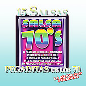 Various Artists: 15 Salsas Pegaditas de Los 70