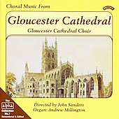 Choral Music - Finzi, Wood, Palestrina, et al / John Sanders, Gloucester Cathedral Choir