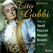 Baritone Masterclass - Cilea, Puccini, Verdi, Mozart, Rossini, etc / Tito Gobbi