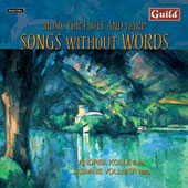 Mendelssohn: Songs Without Words;  Mozart, etc / Kollé, Vollmer