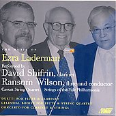 Music of Ezra Laderman Vol 8 / David Shifrin, Ransom Wilson, et al