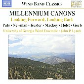 Wind Band Classics - Millennium Canons / Lynch, University of Georgia Wind Ensemble